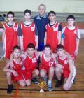 Първо място в Общинския кръг на ученическите игри 2013 - ОУ Иван Сергеевич Тургенев - Разград