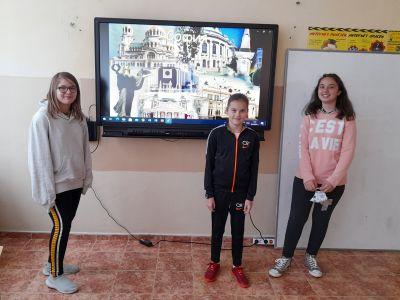 """Учениците от клуб """"Дигитален свят"""" към проект """"Образование за утрешния ден"""" представиха своите последни проекти  6"""