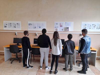 """Учениците от клуб """"Дигитален свят"""" към проект """"Образование за утрешния ден"""" представиха своите последни проекти  8"""