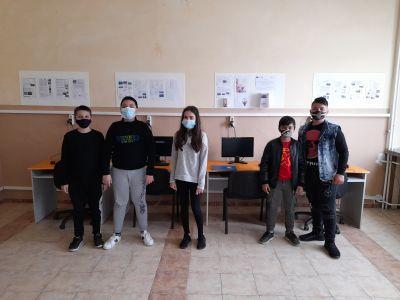 """Учениците от клуб """"Дигитален свят"""" към проект """"Образование за утрешния ден"""" представиха своите последни проекти  9"""