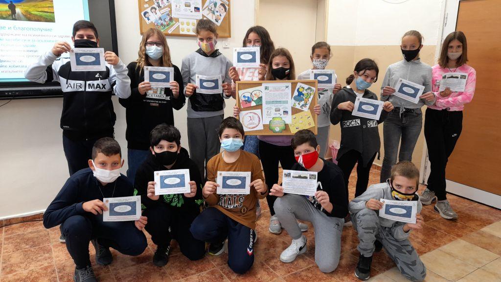 """В ОУ """"Ив. С. Тургенев"""" се проведе кампания по повод Световният ден на Психичното здраве  - голяма снимка"""